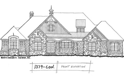 Craftsman Ranch House Plan | Home Plans NC | House Plans NC
